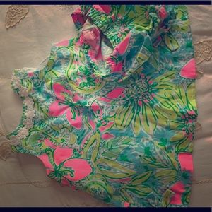 Baby girl Lily dress and bloomers